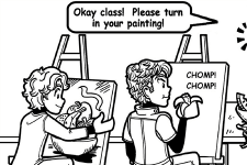 ART CLASS ANTICS – PART 2